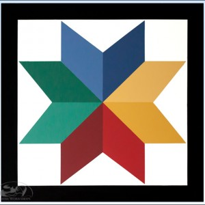 8-Point-Star-Barn-Quilt--4-foot-square amish made