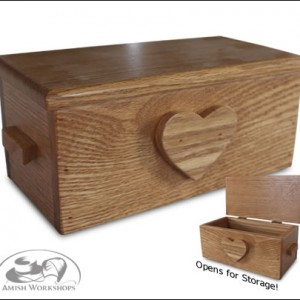 wood 18-Doll-Hope-Chest amish made