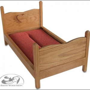 18-inch-Doll-Bed wood amish made