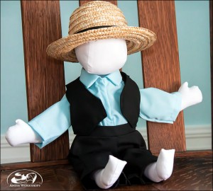 Amish doll boy