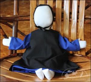 Amish-Doll-blue-dress