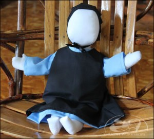 Amish-Doll-light-blue-dress