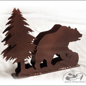 Bear-Napkin-Holder amish gift