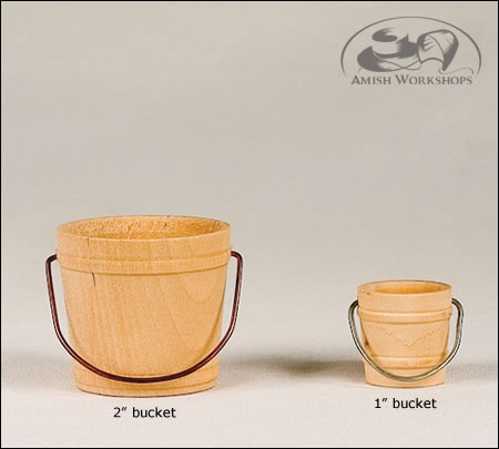 wood toy Buckets-Amish-made