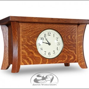 Caledonia-Mantle-Clock-Amish-made