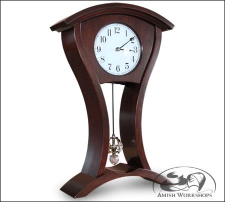 Camarillo-Mantle-Clock-Amish-made