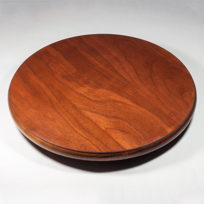 cherry lazy susan amish made