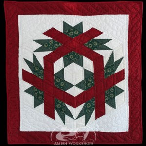 Christmas-Cube-Wall-Hanging Amish made