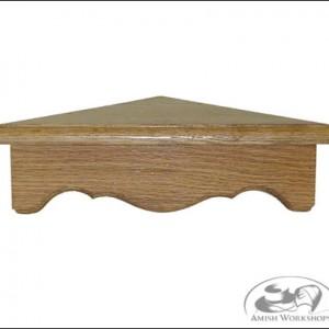 Corner-Shelf amish made