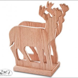 Amish Deer-Napkin-Holder