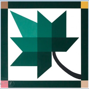 Green-Leaf-Barn-Quilt amish made