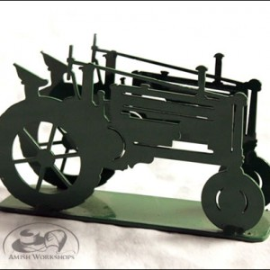 Green-Tractor-Napkin-Holder-Amish-made