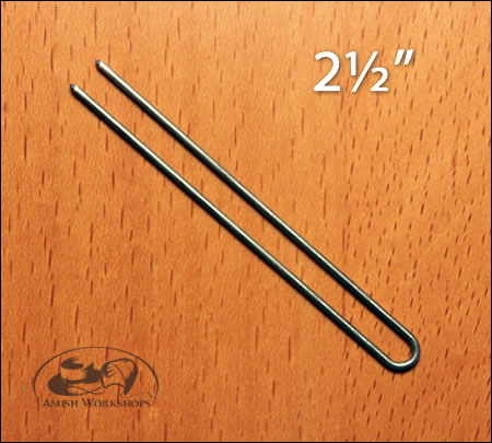 Hairpins-straight-large amish made