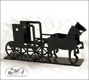 Horse-and-Buggy-Letter-Holder-Amish-made