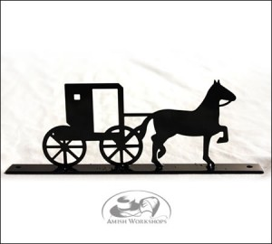 Horse-and-Buggy-Mailbox-Top-Amish-made