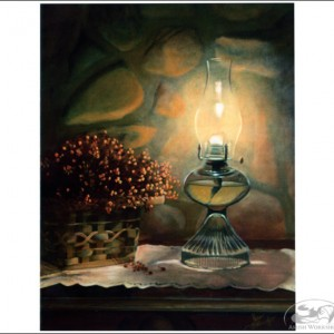 Lantern-Notecards amish made in usa