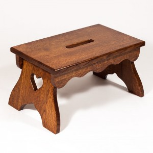 Wood-Step-Stool amish made