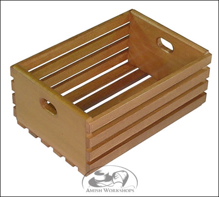 Large-Wooden-Crate amish made