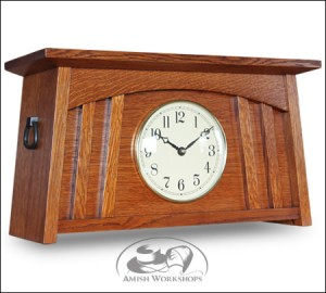 McCoy-Mission-Mantle-Clock-Amish-made