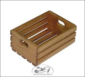 Medium-Wooden-Crate amish made