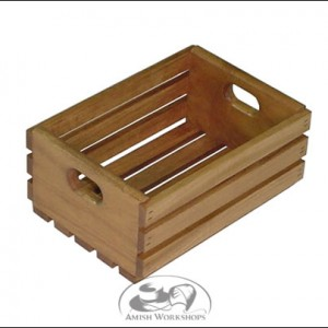 Medium-Wooden-Crate amish made