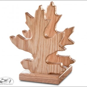 Oak-Leaf-Napkin-Holder amish made