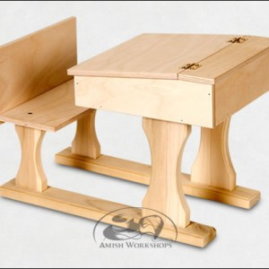amish School-Desk-Wood-Amish-Made