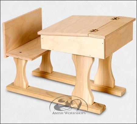 amish School-Desk-Wood-Amish-Made