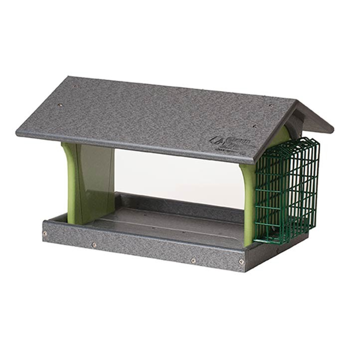 Single-Suet-and-Feeder, amish made