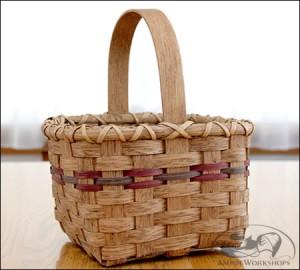 Square-Market-Basket amish made