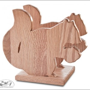Amish Squirrel-Napkin-Holder