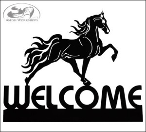 Tennessee-Walker-Welcome-Sign-Amish-made