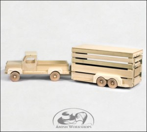 wood toy amish made in usa