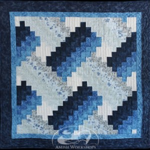 blue Weaver-Fever-Wall-Hanging amish made