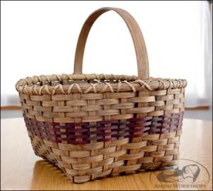 Williamsburg-Basket amish made