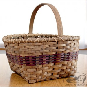 Williamsburg-Basket amish made