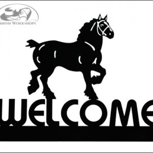 Work-Horse-Welcome-Sign-Amish-made