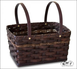 Woven-Carry-All-basket amish made