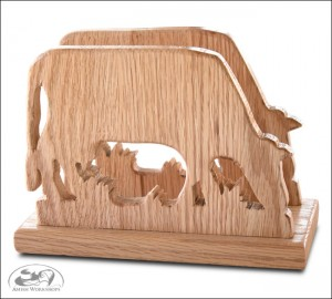 amish cow-napkin-holder