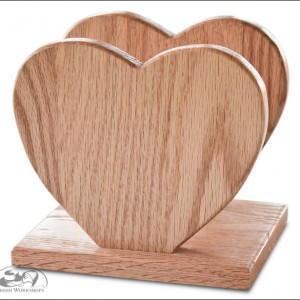 Amish heart-napkin-holder