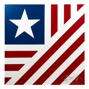 American flag barn quilt