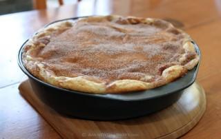 Amish Peaches & Cream Coffee Cake