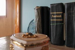 The Ausbund, an Amish hymnal.