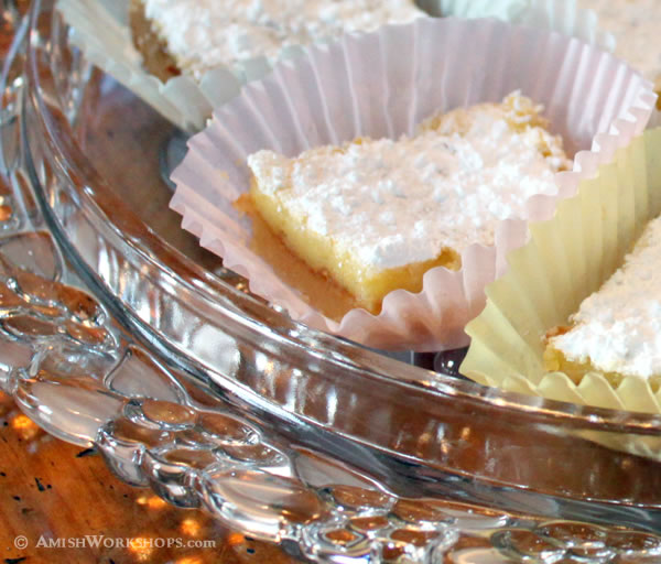 amish lemon bars