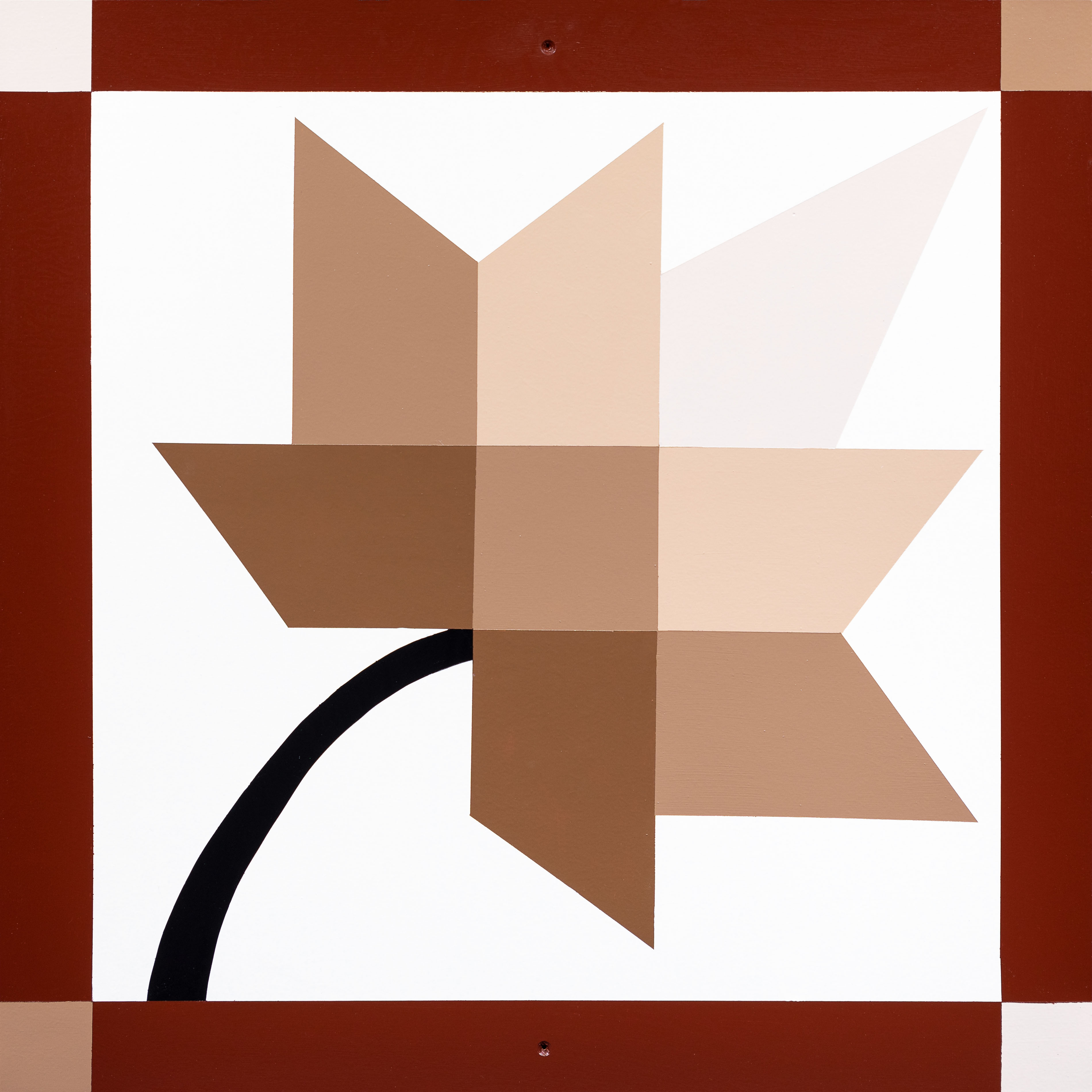 Barn Quilt Autumn Splendor Cinnamon Spice
