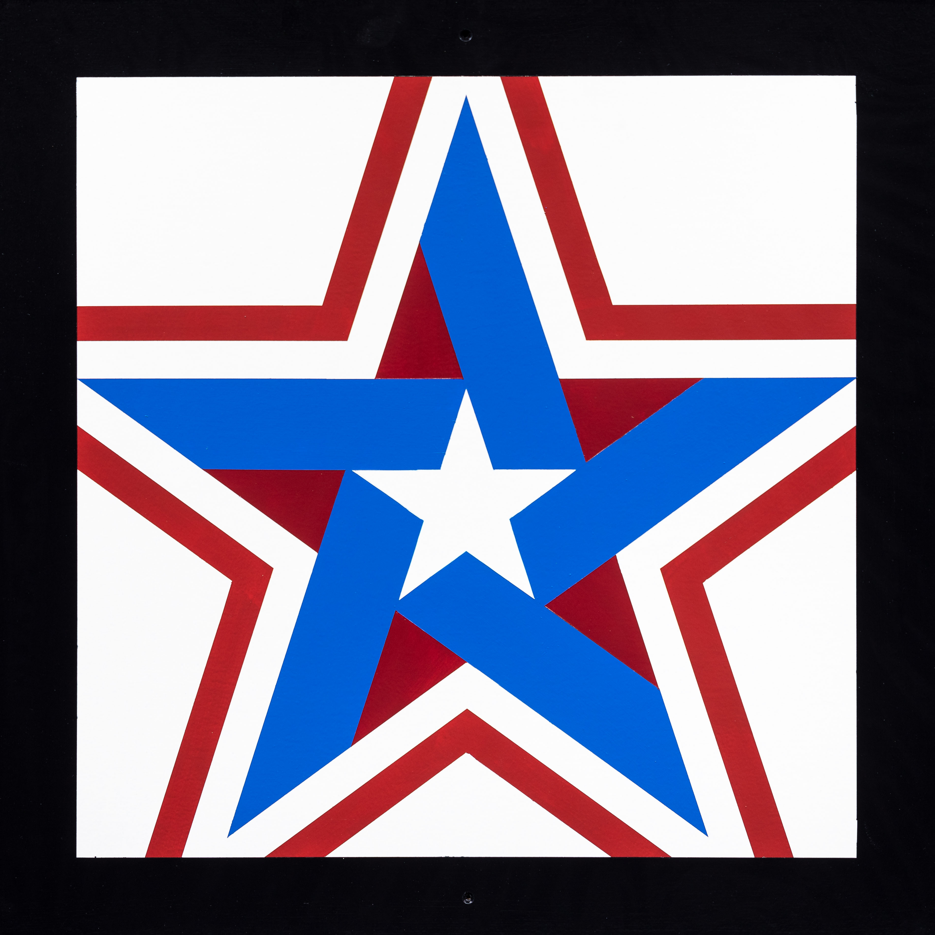 Barn Quilt Lone Star with Border