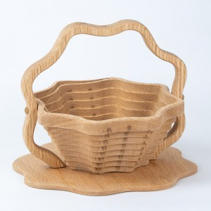 Wood Collapsible Baskets