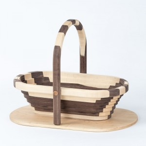collapsible-basket-maple-walnut-oval